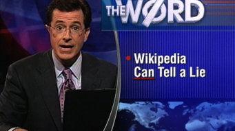 達人分享-財經媒體-Colbert在節目嘲諷維基百科